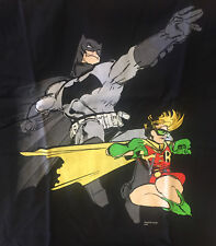 Dark Knight & Robin T-Shirt Batman Size Small S