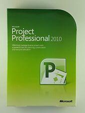 MS project 2010 professional pro DVD 32/64 bit h30-02670 ANGLAIS ENGLISH NEUF