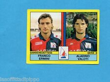 PANINI CALCIATORI 1988/89-Figurina n.521- ERMINI+VALOTI -SAMBENEDETTESE-Rec