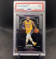 Lebron James 2019 Panini Prizm #129 PSA 9 Base - Los Angeles Lakers