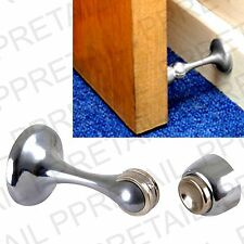 CHROME MAGNETIC DOOR HOLDER Stop/Catch/Hook/Wedge/Hold+