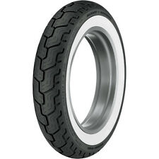 DUNLOP MT90B16 WHITE WALL HARLEY D402 REAR TIRE TOURING ROAD KING FLHR FLHRC