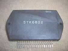 "STK6822  ""Original"" SANYO  18P SIP IC 1 pc"