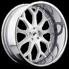 "22"" INCH FORGIATO DREA WHEELS RIMS OLDSCHOOL CUTLASS IMPALA REGAL CHEVELLE ELCOS"