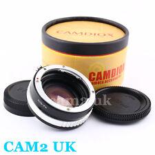 Focal Reducer Speed Booster Adapter Nikon F G Lens to Fujifilm X Adapter FX FUJI