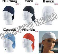 ATLANTIS cappello BANDANA LONG foulard COTONE mare UNISEX moda 5 colori MOTO