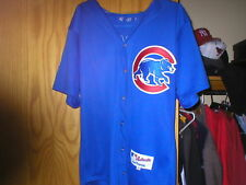 2000 SANDY ALOMAR Chicago Cubs game worn used jersey
