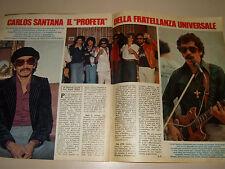 CARLOS SANTANA clipping articolo foto photo 1979