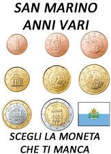 1 CENT - 2 EURO SAN MARINO ANNI VARI FDC UNC
