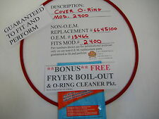 """1 EA. COVER O-RING FITS BROASTER MOD.2400 17""""installed dia.(W/ FREE Fry BOIL OUT"""