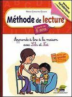 Méthode de lecture à partir de 5 ans : Apprends à lire à la maison avec