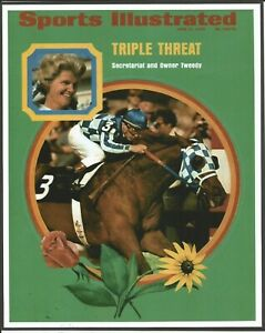 "1973 - June 11th - Sports Illustrated - SECRETARIAT - Cover Photo - 8"" x 10"""