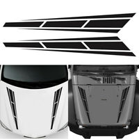 80x12cm Car Racing Truck Hood Stripe DIY Decal Graphic Sticker Car Accessories