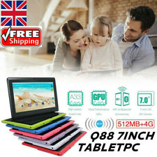 2020 Magic!!! Tablet 7 inch tablet 4GB ROM Android 4.4 Quad Core Q88 Kids PAD
