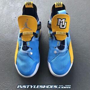 Nike Air Jordan 33 PE Sz 9.5 Marquette Alternate Promo Player Exclusive