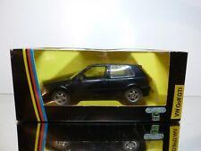 SCHABAK 1400 VW VOLKSWAGEN GOLF GTI - BLUE 1:24 - VERY GOOD CONDITION IN BOX