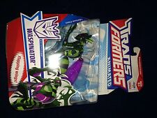 TRANSFORMERS ANIMATED Deluxe Waspinator New Misb