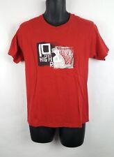Vintage Nike 10 Feet High and Rising Basketball Short Sleeve Shirt Large Hoop[