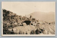 Le Roi Gold Mine RPPC Rossland British Columbia—Antique Photo—Rare Mining 1930