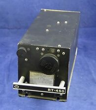 Wulfsberg RT-450 UHF Flexcomm Transceiver PN 400-0103-000 Repaired with FAA 8130