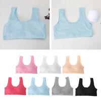 Teenage Kids Girls Underwear Teen Sports Bra Puberty Training Bra Underclothes