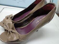 MADDEN GIRL Women Taupe Brown Open toe Platform High Heels