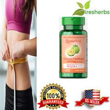 GARCINIA CAMBOGIA 500 mg HCA PER SERVING DIET WEIGHT LOSS FAT BURNER 60 CAPSULE