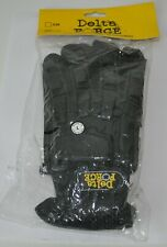 DELTA FORCE BLACK PAINTBALL GLOVES LARGE/XL
