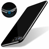 Luxury Ultra Thin Hard Acrylic PC Jet Black Back Case Cover for iPhone 7/6s Plus