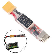 2S-6S Lithium Lipo Battery XT60 Plug to USB 5V Charger Konverter Modul Adapter