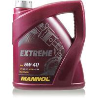 Original MANNOL 1x4 Liter Extreme 5W-40 API SN/CF Öl Motoröl MN7915-4