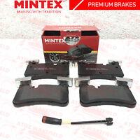 FOR MERCEDES BENZ C63 E63 CLS63 AMG REAR PREMIUM MINTEX BRAKE PADS SENSOR WIRE