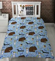 Secret Life of Pets Hounds Single Panel Duvet Cover Bed Set Every Dog Has His Da
