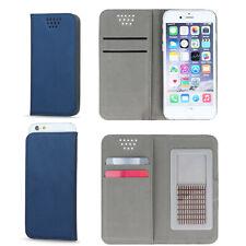 Handy Tasche für UMIDIGI F1 Smartphone Bookstyle Klapp Etui Blau