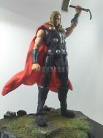 """1/12 Scale Custom Red Wired Robe Cloak for 6"""" Figure Shf Marvel Thor Odinson"""