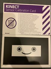 Kinect Sensor Calibration Card - XBox 360 New Same Day Fast Post