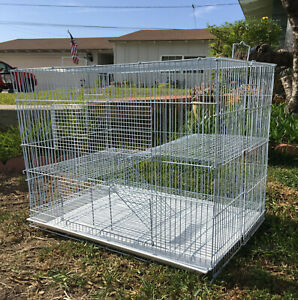 """Large 30"""" Critters Cage Chinchilla Guinea Pig Ferret Hamster Gerbil Mice Rats"""