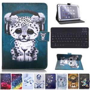 For Onn 10.1'' Tablet Pro Model 100003562 Keyboard Universal Pattern Case Cover