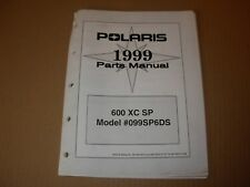 1999 Polaris 600 XC SP Snowmobile Parts Manual
