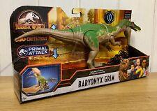 Jurassic World - Baryonyx Grim - Camp Cretaceous - BRAND NEW!!