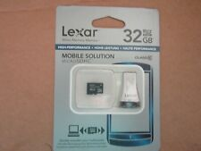 NEW Lexar 32 GB MicroSDHC SD Card with reader - IT 3007271209