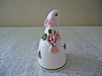 """Vintage 1984 Avon Ceramic Bunny Bell """" BEAUTIFUL COLLECTIBLE ITEM """""""