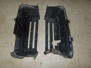 2005 John Deere Buck 500 Left Right Side Plastic Foot Wells Floor Boards