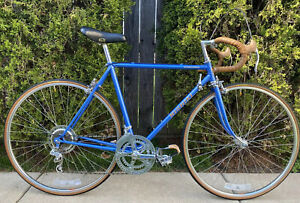 Vintage 1979 Lake Blue Nishiki International TangeDB 21in Bicycle CroMoly Brooks