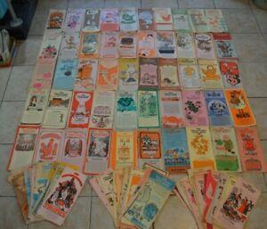 Vintage Women's Day Kitchen Cookbook Leaflets Booklets Lot of 115 Cooking Recipe