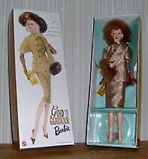 """Poupée Mattel reproduction Barbie de 1965 """"gold'n Glamour"""" 2001 #54185-"""