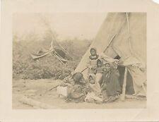 Photograph original Slavi Indian family at HPP