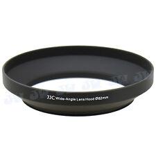 JJC 82mm Metal Lens Hood Shade For Canon Nikon Olympus Panasonic Wide-Angle Lens