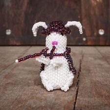 Zuni Beaded Magician Bunny by Ronda Dosedo -Native American Beadwork
