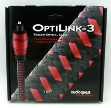 AudioQuest Cinnamon OptiLink 3m 10 ft. Full to 3.5mm Optical Audio Cable by Audioquest